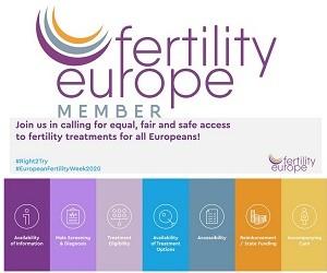Европейската седмица на фертилността 2020 призовава за равен достъп до лечението на репродуктивни проблеми в Европа